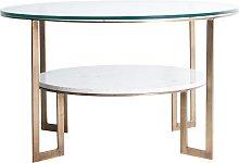 Mesa de centro estilo vintage