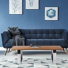 Mesa de centro salón diseño madera acacia maciza