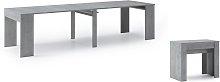 Mesa de comedor consola extensible hasta 301 cm,