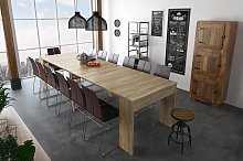 Mesa de comedor consola extensible hasta 301 cm en