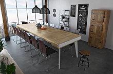Mesa de comedor consola extensible Nordic Curve