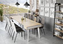 Mesa de comedor consola extensible Nordic hasta
