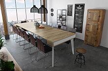 Mesa de comedor consola extensible Nordic K hasta