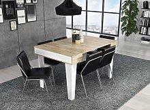 Mesa de comedor consola extensible Nordic KL hasta