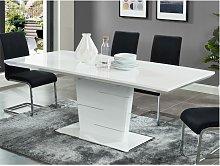 Mesa de comedor extensible AMELLE - 6 a 8