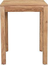 Mesa de comedor extensible en acacia maciza