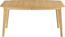 Mesa de comedor extensible nórdica en madera