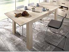 Mesa de comedor extensibles BALKIS - Color: roble