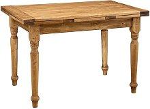 Mesa de estilo Country de madera maciza de tilo