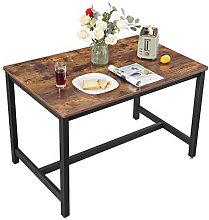 Mesa de hierro y madera Vasagle