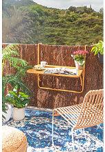 Mesa de Jardín Colgante y Plegable Janti Mostaza
