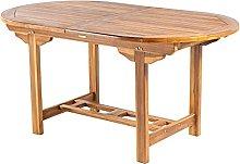 Mesa de jardín Extensible 160/210 cm de Madera