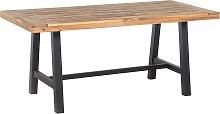 Mesa de madera negro/marrón SCANIA