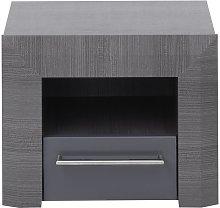 Mesa de noche BRITANY - 1 cajón - Panel de