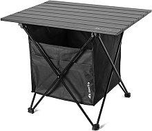 Mesa de picnic al aire libre plegable con asiento