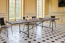 Mesa de tapicería extensible