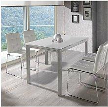 Mesa extensible salon o comedor en acabado color