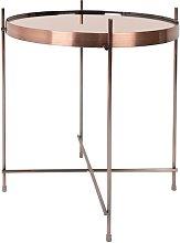 Mesa lateral de cobre Cupido