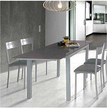 Mesa para cocina extensible cristal varios colores