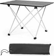 Mesa Plegable de Camping de Aluminio Mesa de