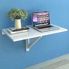 Mesa plegable de pared blanca 100x60cm Vida XL