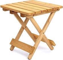 Mesa plegable resistente para el jardín, el patio