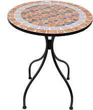 Mesa redonda mosaico NAXOS de resol