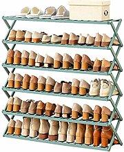 MICEROSHE Zapatero Conveniente Rack de Zapatos de
