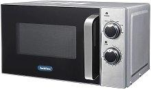 Microondas 20 L 700W Mecánico Cromado - Habitex