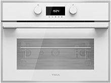 Microondas con grill compacto integrable blanco