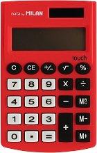 Milan 150908RBL - Calculadora, color rojo