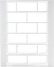 Miliboo - Biblioteca separador de espacios blanca