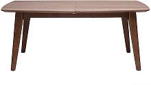 Miliboo - Mesa de comedor diseño extensible nogal