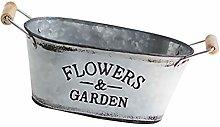 MILISTEN 1 Pieza de Flores Cubo de Hierro para