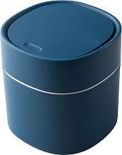 Mini cubo de basura de escritorio de plastico con
