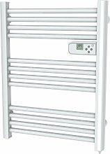 Mini radiador toallero eléctrico 500W blanco