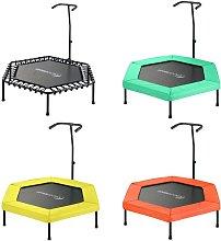 Mini Trampolín Cama Elástica Hexagonal 127 cm