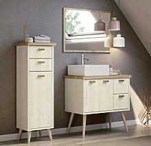 Miroytengo Conjunto mobiliario baño Vintage Drya