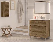 Miroytengo Conjunto Mueble de baño, Lavabo, o