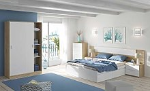 Miroytengo Pack Dormitorio Completo Alaya Color
