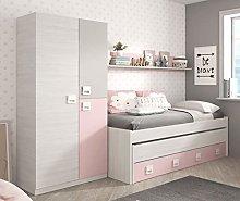Miroytengo Pack Dormitorio Infantil Juvenil Cama