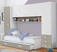 Miroytengo Pack Dormitorio Puente Infantil Juvenil