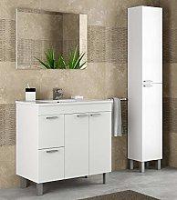Miroytengo Pack Mobiliario baño Mueble con