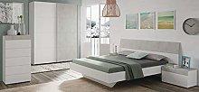 Miroytengo Pack Muebles Dormitorio Plutón Estilo