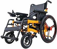 MJY Silla de ruedas eléctrica Plegable Ligero