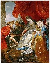 Mmpcpdd Lienzo Pintura Al Óleo Rubens Arte