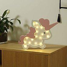 Mobestech Unicornio Led Luz de Noche Decorativa