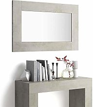Mobili Fiver, Espejo de Pared Rectangular, Marco