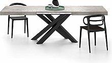Mobili Fiver, Mesa Extensible Emma 160, Cemento
