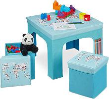 Mobiliario infantil plegable, Taburetes de